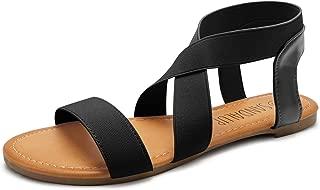 Best tie up leg flat sandals Reviews