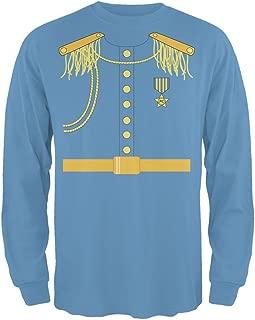 Halloween Prince Charming Costume Carolina Blue Adult Long Sleeve T-Shirt