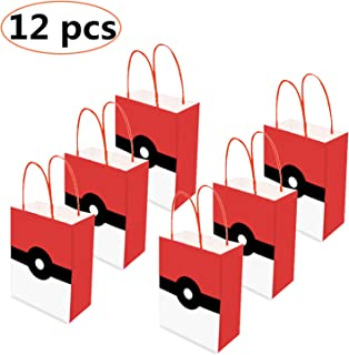 12PCS Video Gaming Party Gift Bags,loot bags, treat bags - Holiday Gift Bag - Goody Favor Bags for Kids Adults Birthday Party Game Themed Party Supplies