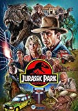 MKAN Póster De Película E Impresiones, Lienzo De Jurassic Park, Cuadros Artísticos De Pared, para...
