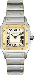 cartier gold santos watch