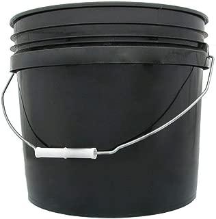 Hydrofarm HG3G, Black, 3 Gallon Single Bucket, 3-Gallon
