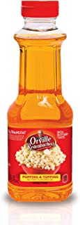 Orville Redenbacher's Popping & Topping Buttery Flavored Oil, Keto Friendly, 16 Fluid Ounce