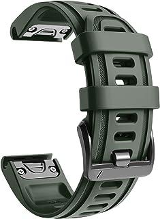 NotoCity Bracelet Fenix 6S 20 mm Sport pour Montre Intelligente Fenix 5S / 5S Plus/Fenix 6S / Fenix 6S Pro / D2 Delta S(AR...