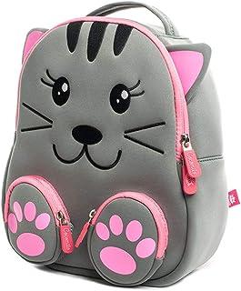Mochilas Infantiles, 3D Mochila Infantil Animales Impermeable Mochila Bebé Guardería Preescolar Bolsa Toddler Escolar Backpacks para Niño Niña 2-6 años, Cat