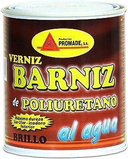 Promade - Barniz Poliuretano Muebles Brillo al agua (750 ml)