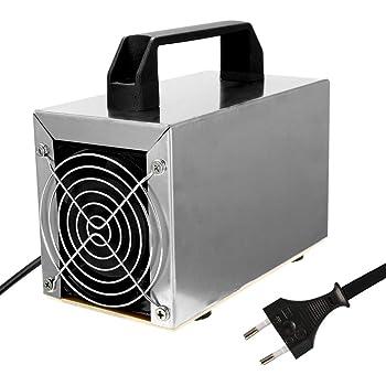 12 v 10 g/h coche generador de ozono portátil placa de cerámica ...