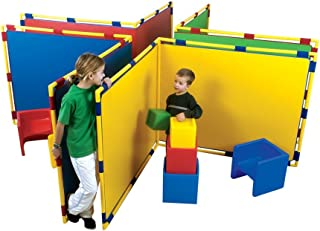 Children's Factory Big Screen Right Angle Room Divider