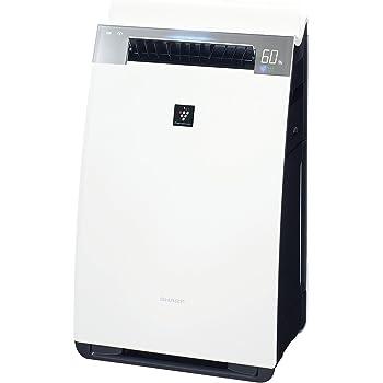 シャープ 加湿 空気清浄機 プラズマクラスター 25000 ハイグレード 21畳 / 空気清浄 34畳 自動掃除 2018年モデル ホワイト KI-JX75-W
