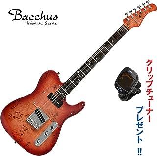 Bacchus Universe Series TACTICS-BP/R RD-B(レッドバースト)・バッカス/バールポプラトップ仕様・テレキャスタータイプ