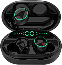 Bluetooth 5.0 Headphones Wireless Earbuds,IPX8 Waterproof Stereo Earbuds with Microphone,..