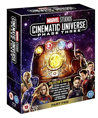 Marvel Studios Cinematic Universe: Phase Three - Part Two [Blu-ray] [2019] [Region Free]
