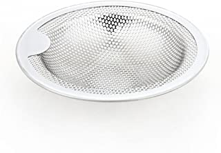 Sink Strainer Basket, Transer Kitchen Replacement Fixed Post Stainless Steel Sink Strainer Stopper Drain Cover Protector (Silver #2L)