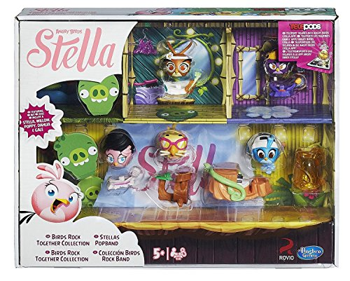 Hasbro Angry Birds Collection d'oiseaux Stella Telepods