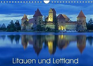 Litauen und Lettland (Wandkalender 2022 DIN A4 quer): Impressionen aus Litauen und Lettland (Monatskalender, 14 Seiten )
