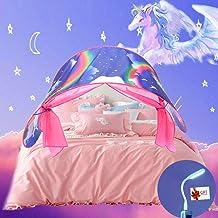 Nifogo Tiendas de Ensueño, Tienda de Niños,Children Play Cama Tienda de Campaña, Adecuado Como Regalo Para Niños Durante Festivales Rosa(Unicornio)