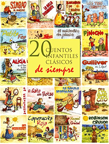 20 cuentos infantiles clásicos de siempre eBook: Andersen, Hans ...