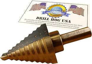 Drill Hog Step Drill Bit 1/4