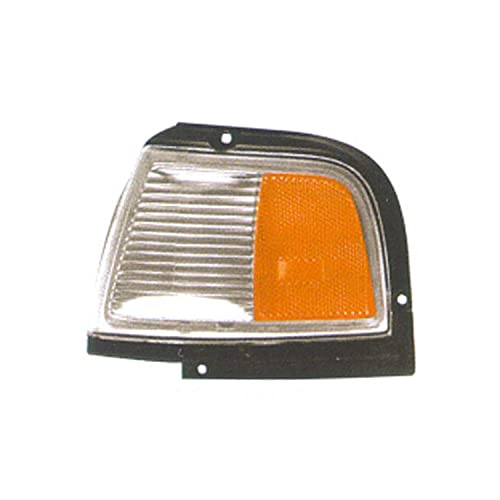 TYC 12-1397-01 Oldsmobile Cutlass Ciera Front Passenger Side Replacement Parking//Signal Lamp Assembly