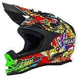 O'NEAL 7 Series Evo Motocross Enduro MTB Helm Crank schwarz/Multi 2018 Oneal: Größe: M (57-58cm)