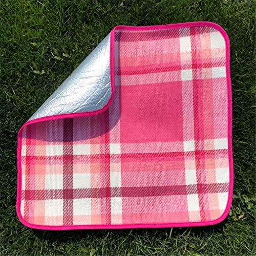 X-Labor Sitzkissen Alu Isolierend 48x48cm Sitzmatte mit wasserdichter Unterseite Outdoor Campingmatte Motiv-N