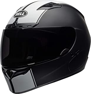 CAPACETE BELL QUALIFIER DLX MIPS RALLY MATTE BLACK WHITE 62