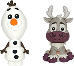 Frozen 2 Olaf and Sven 3D Novelty Kitchen Refrigerator Magnet Gift Set (2 Pack)