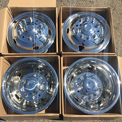 BA Products Phoenix USA PNF23RWL CLPH275 HUB Cap Stainless Simulator ONE HUBCAP ONLY PNF22LNT-x2 Fits: 05- Current Ford F350 17 8 Lug 4 HH Dual Wheel Rear Wheel Cover Liner