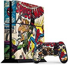 Skinit Decal Gaming Skin for PS4 Console and Controller Bundle - Officially Licensed Marvel/Disney Spider-Man vs Sinister Six Design