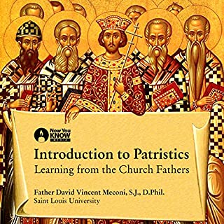 Introduction to Patristics audiobook cover art