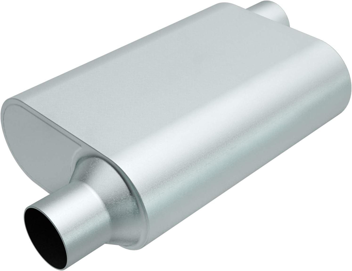Rumble Exhaust R22443 Exhaust Muffler (13X4.25X9.5 2.25/2.25 O/O
