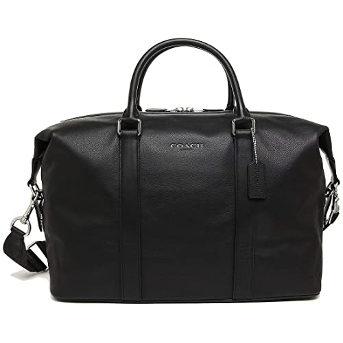 COACH VOYAGER BAG IN SPORT CALF LEATHER (COACH F54765) BLACK d722fe5061755