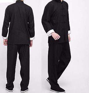 MissZZ Tai Chi Vêtements Femmes Vintage Chinois Wing Chun Kung Fu Uniforme Coton Soie Arts Martiaux Costumes De Tai Chi, V...