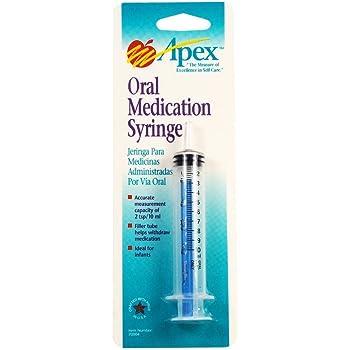 Apex - 70004 Oral Syringe with Filler Tube