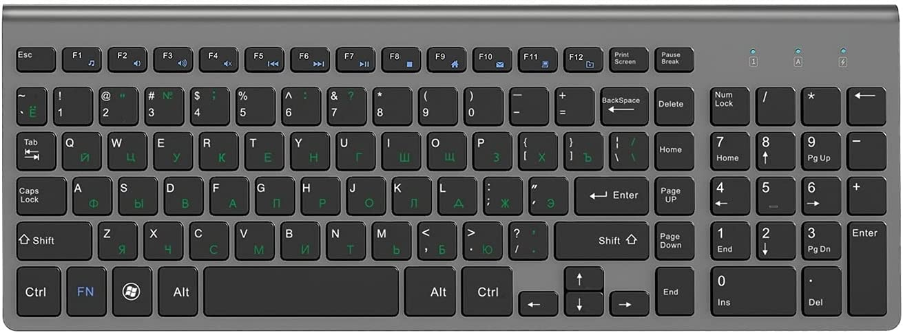 MMBH Spanish Italian German French Keyboard Er Russian Selling and selling Popular brand Wireless