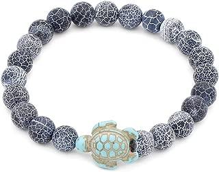 8mm Lava Rock Stone Beaded Chakra Bracelets Adjustable Handmade Woven Rope Bracelet Yoga Beads Relaxation Jewelry