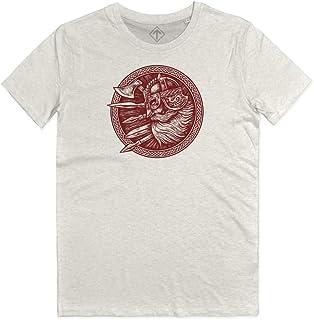 Maglietta Vikings Uomo Donna Serie TV Generico T Shirt Vikings Ragnar Fan Art