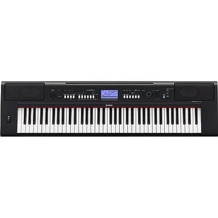 Yamaha NP-V60 - Teclado electrónica (76 teclas, 2 altavoces integrados, 489 voces y estilos, USB), color negro