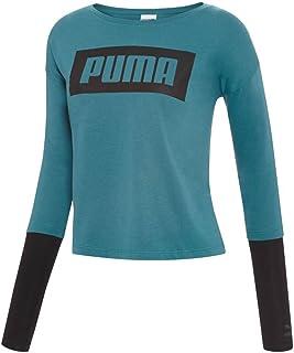 PUMA womens Long Sleeve T-Shirt Long Sleeve T-shirt