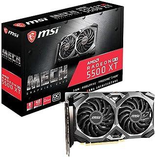 MSI Radeon RX 5500 XT Mech 8G OC - Tarjeta Gráfica Enthusiast