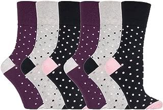 3 PAIA Donna Nero Gentle Grip Soft Top Calze Non Elastiche Misura 4-8