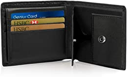 Portefeuille Cuir pour Homme RFID Portefeuille pou