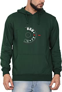 Swag Swami Unisex Cotton My Preference Manual Mode Photography Themed Printed Hoodie | Hooded Sweatshirt
