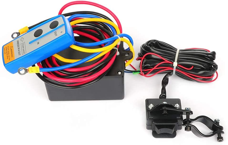 cciyu Electric Tucson Mall Winch New color 12V 3500 for Winches lbs Black Tow