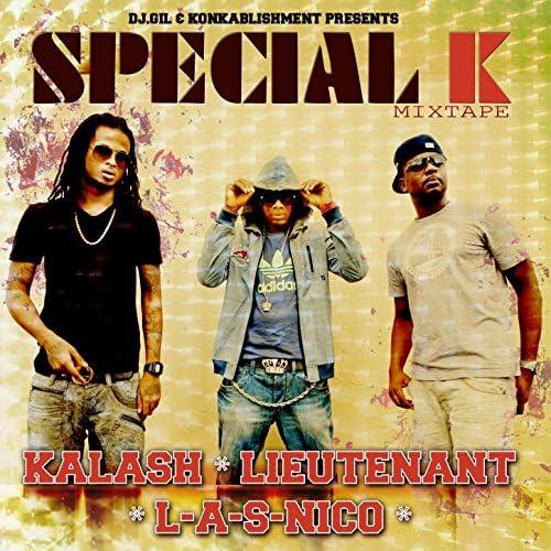 Kalash, Lieutenant & L-A-S-Nico