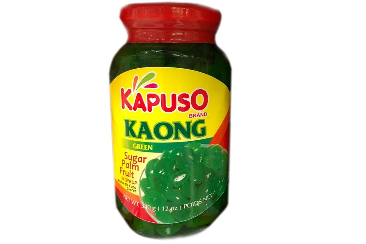 Atlanta Mall kapuso kaong palm fruit in 1 NEW before selling ☆ pack green syrup of