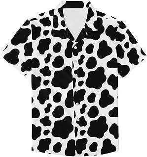 Sponsored Ad - Unique Printed Funky Hawaiian Shirt Men Short Sleeve Shirt Top Blouse for Summer