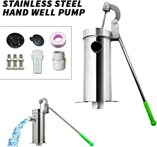 MANUAL BACKUP EMERGENCY HAND WATER WELL PUMP 50/' OR 100/' 25/' FLEXIBLE