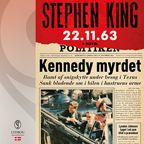 22.11.63 audiobook cover art