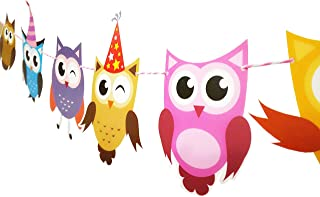 owl themed party decorations